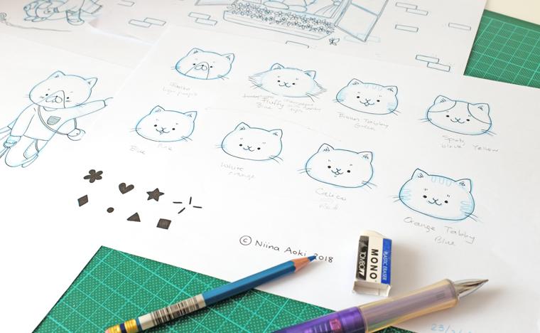 drawings LR