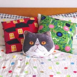 Panko the cat large cushion